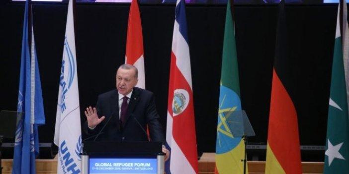 Erdoğan: Müslümanlar açlıkla boğuşuyorsa hatayı bize aramak gerekir