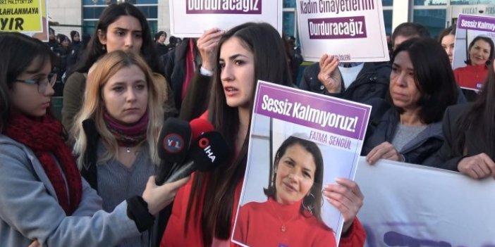 Fatma Şengül'ün katiline haksız tahrik indirimi!