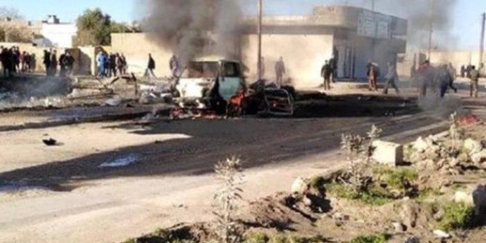 Rasulayn'da bombalı araçla terör saldırısı