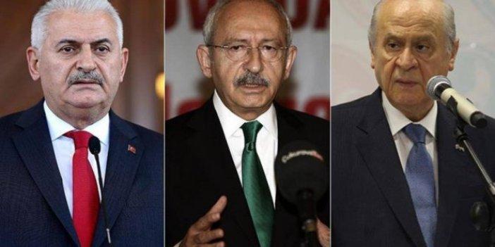Devlet Bahçeli, Kılıçdaroğlu ve Binali Yıldırım'dan aynı isme dava