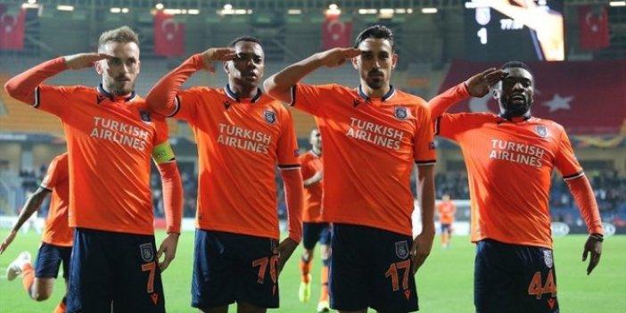 UEFA'dan Başakşehir'e skandal ceza!
