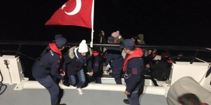 Bir haftada 946 düzensiz göçmen yakalandı