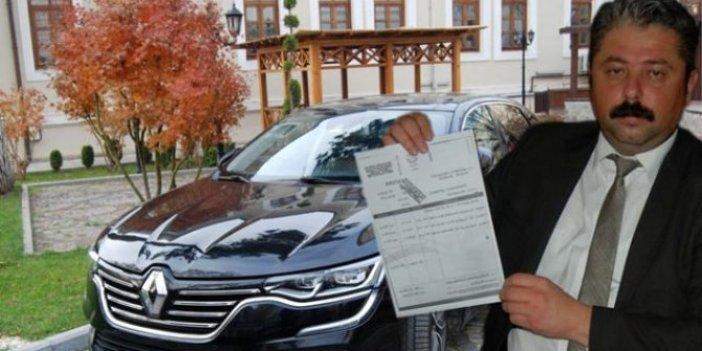 AKP'li eski başkandan kalan borcu ödemek için makam aracını sattı
