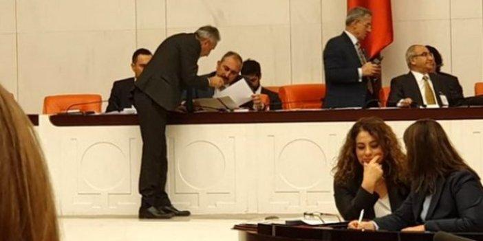 CHP'li vekil, Adalet Bakanı'na yolsuzluğun tutanağını verdi!