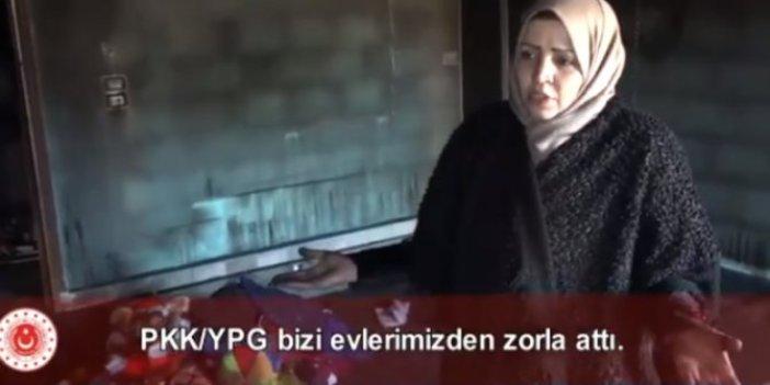 Suriyeli kadın PKK zulmünü anlattı