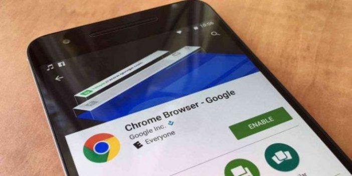 Chrome güncellemesi ile her şey kontrol altında
