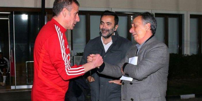 Ahmet Nur Çebi'den derbi öncesi sürpriz ziyaret