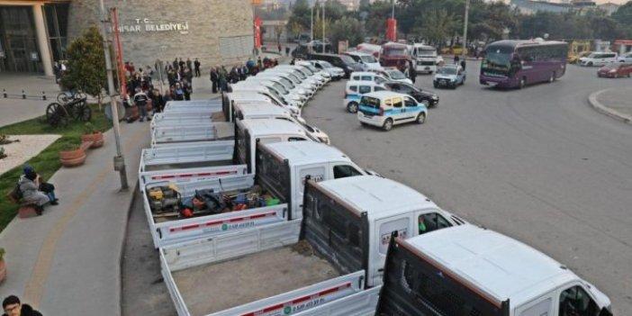 AKP'nin 116 bin TL'ye kiraladığı araçları CHP 66 bin TL'ye satın aldı!