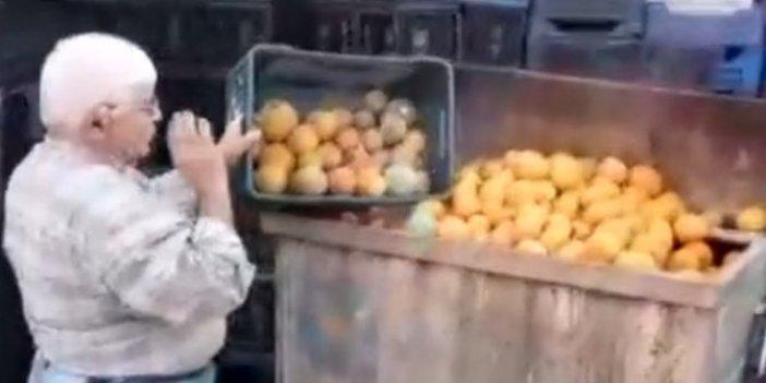 Çiftçinin içler acısı hali!