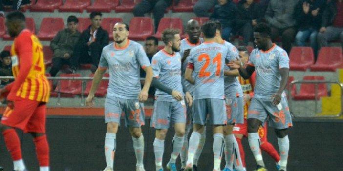 Kayserispor-Başakşehir: 1-4 (Maç özeti)