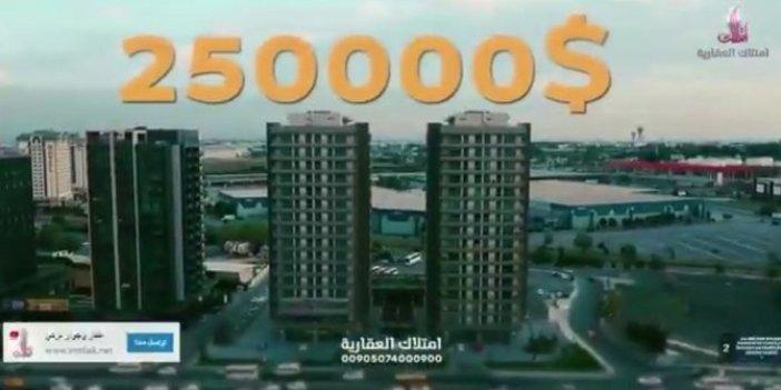 Satılık vatandaşlık reklamı Arap kanallarında