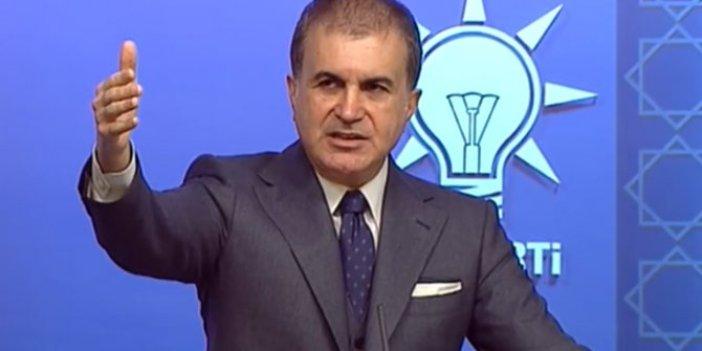 Ömer Çelik'ten Sinan Aygün'ün Mansur Yavaş hakkındaki iddialarına ilişkin açıklama