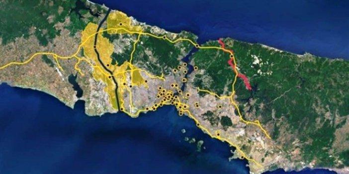 """""""Kanal İstanbul için beton lobisi bastırıyor"""""""