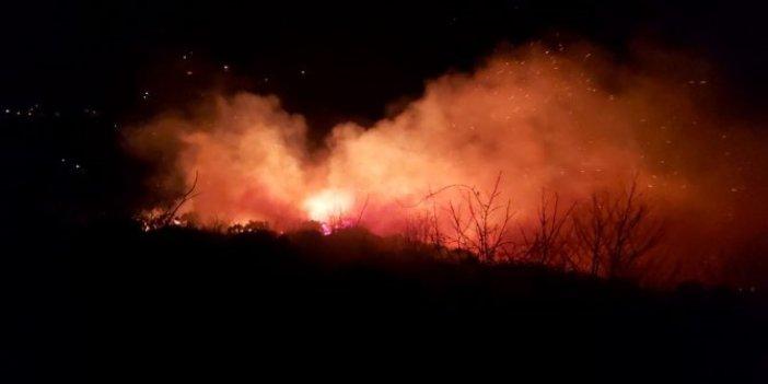 Karadeniz'deki orman yangınları 15 noktada devam ediyor!