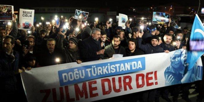 Elazığ, Doğu Türkistan için yürüdü