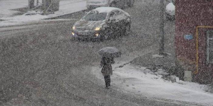 Meteoroloji'nden 10 il için kar uyarısı!