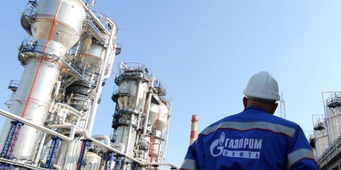 Gazprom sevkiyata başlıyor