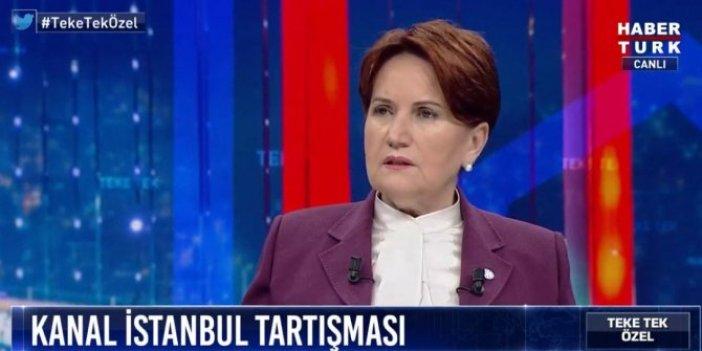 Meral Akşener, HaberTürk canlı yayında konuştu