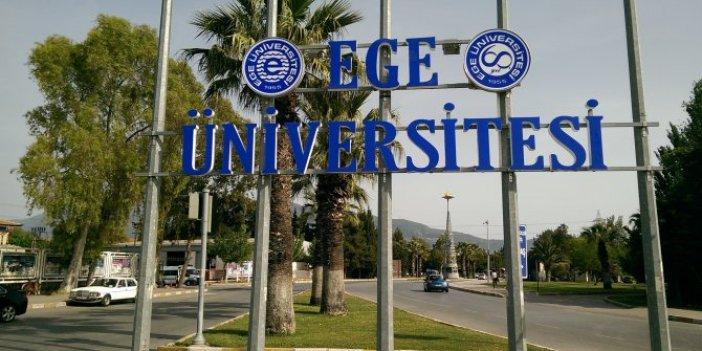 Ege Üniversitesi'nde 'kişiye özel ilan' tartışması