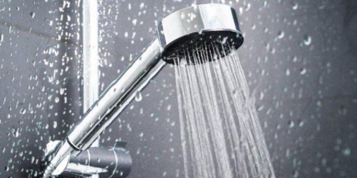 Soğuk havada sıcak su ile duş almayın!