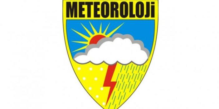 Meteoroloji'den sarı kodlu uyarı