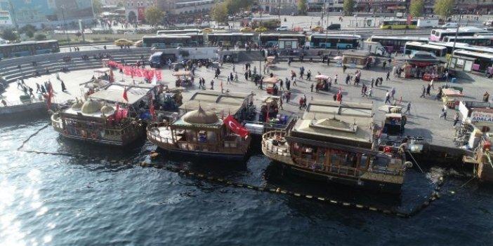 Eminönü'ndeki tarihi balıkçılarda yeni gelişme