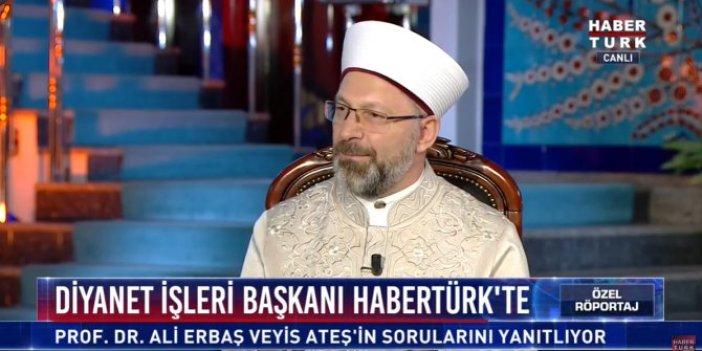 Diyanet İşleri Başkanı Ali Erbaş: Kesin ve kati haramdır