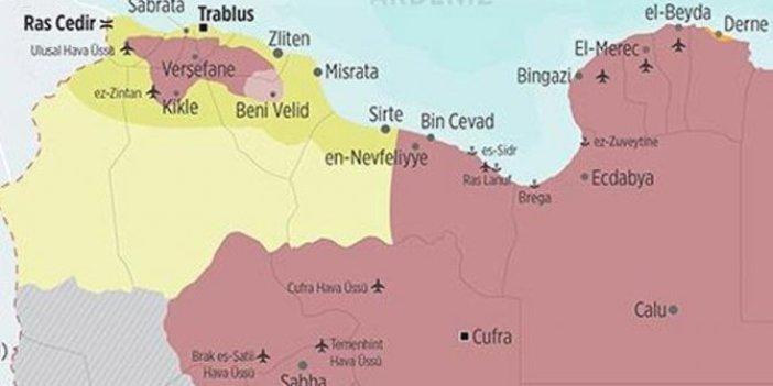 Libya iç savaşında kritik gelişme!