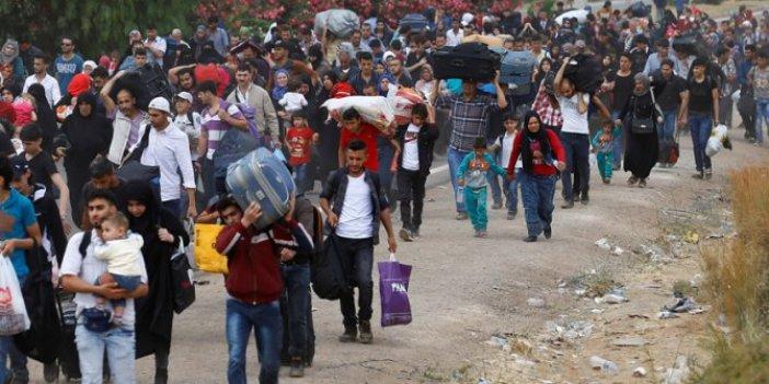 47 bin Suriyeli daha Türkiye sınırında!