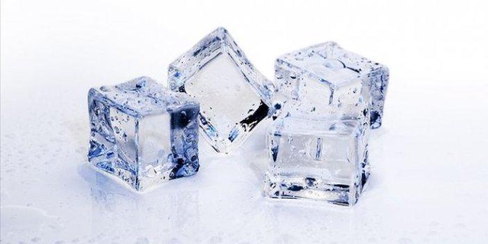 Soğuk alerjisine 'buz-küp' testi!