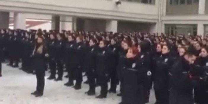 Polis okulundaki 'yemin' görüntülerine açıklama