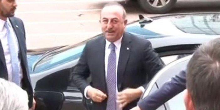 Çavuşoğlu'ndan CHP'ye 'tezkere' ziyareti