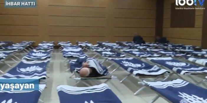İBB, evsizler için kış hizmeti çalışmalarına başladı
