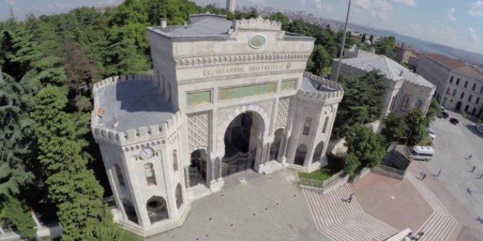 İstanbul Üniversitesi'den tepki çeken uygulama!