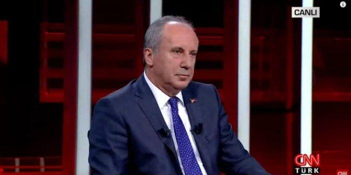 İnce: Kılıçdaroğlu aday olursa ben olmam