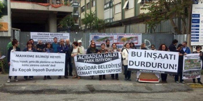 AKP'li belediye Aziz Hüdayi Vakfı'na hibe etmişti: İnşaat durdu