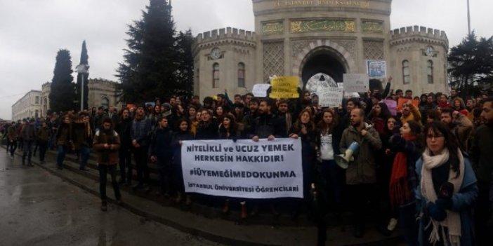 İstanbul Üniversitesi öğrencileri yemek zammına itiraz edecek