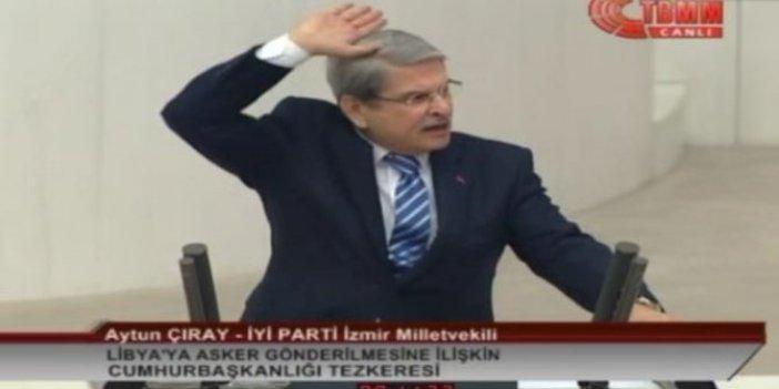 Aytun Çıray'dan AKP'li vekile telefon tepkisi