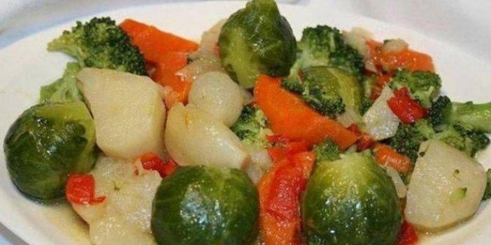 Lahana, brokoli, soğan ve patatese dikkat!