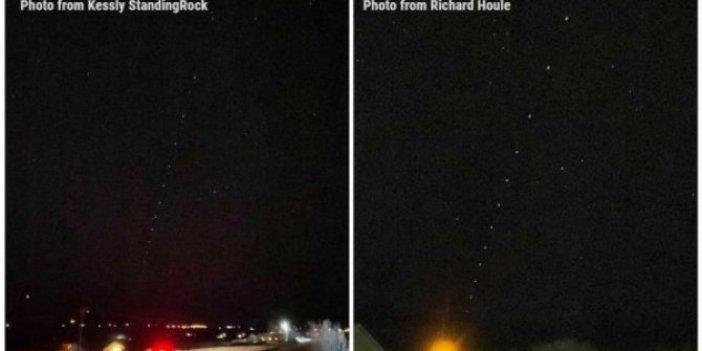 ABD, SpaceX'in Starlink internet uydularını UFO sandı