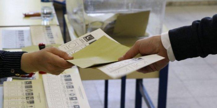 Son seçim anketleri açıklandı! İşte AKP, CHP, İYİ Parti ve MHP'nin oy oranı