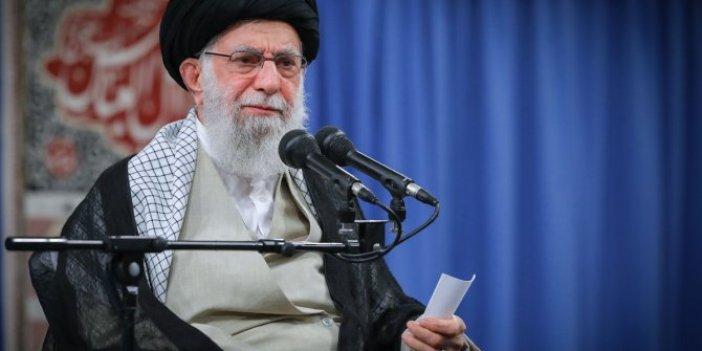 İran dini lideri Ali Hamaney'den çok sert açıklama!