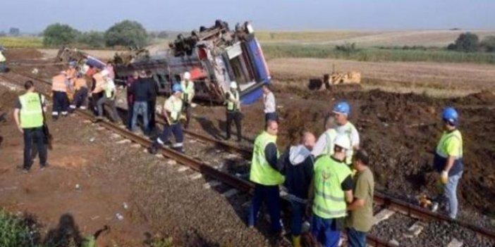 Çorlu tren kazasında bilirkişi skandalı