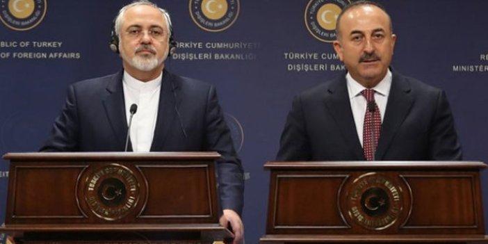 Bakan Çavuşoğlu, Cevad Zarif ile telefonda görüştü