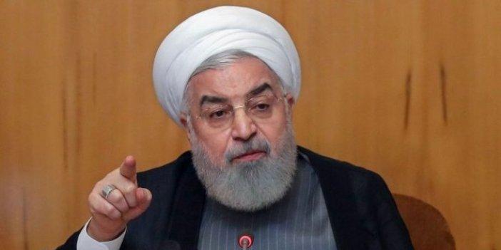 Hasan Ruhani sessizliğini taziye evinde bozdu!