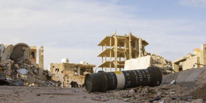 BAE'den Libya'da sivil alanlara saldırı