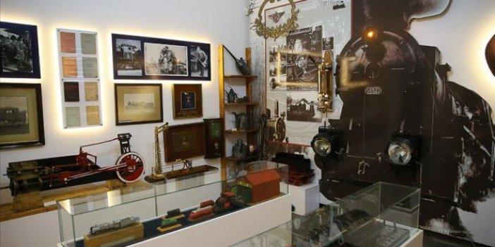 Demir yoluna ait her şey bu müzede