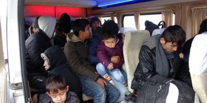 108 kaçak göçmen yakalandı