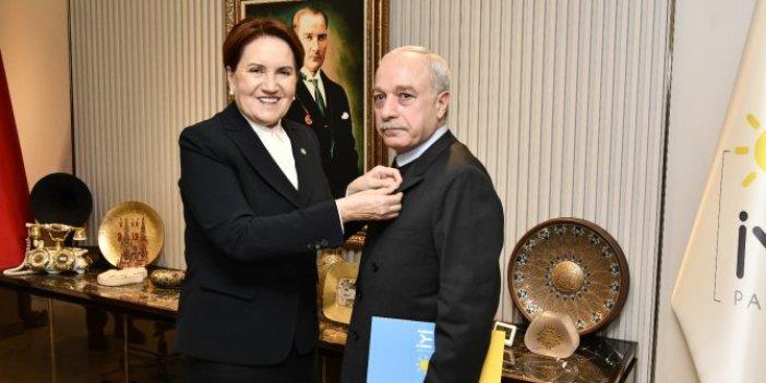 Erdal Sarızeybek İYİ Parti'ye katıldı