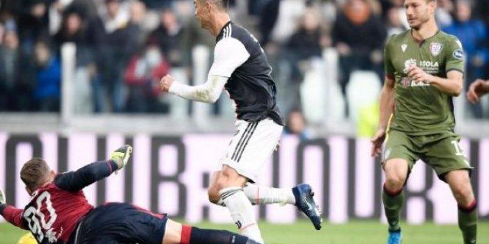 İtalya'da Ronaldo şov!